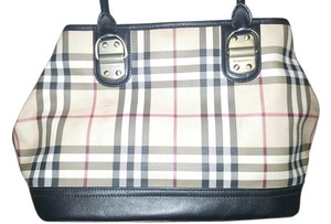 Burberry Satchel in Traditional Burberry Plaid