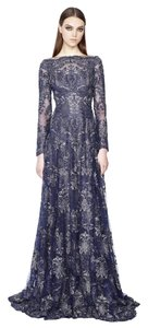 Marchesa Re Embroidered Dress