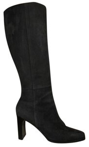 Lord & Taylor Leather Suede black Boots
