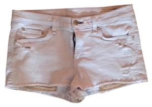 Rag & Bone Cut Off Shorts Light wash denim blue