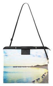 Twelfth St. by Cynthia Vincent Blue Ocean Landscape Clutch