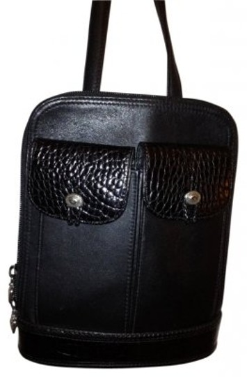 Preload https://item2.tradesy.com/images/brighton-black-leather-shoulder-bag-13841-0-0.jpg?width=440&height=440