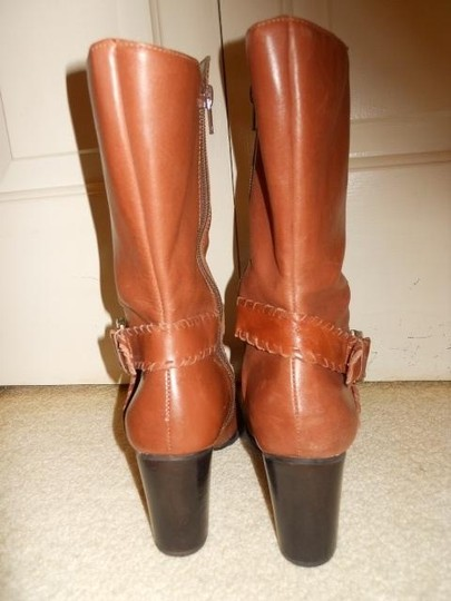 Andiamo Leather Midcalf tan Boots