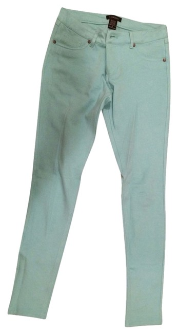 Cisono Spring Colorful Teal Blue Jeans Skinny Leg Skinny Denim Summer Fall Straight Leg Pants