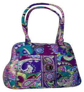 Vera Bradley Satchel in Heather Purple