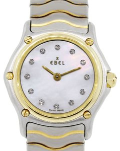 Ebel Ebel Sport Classic Two Tone MOP Diamond Dial Ladies Watch