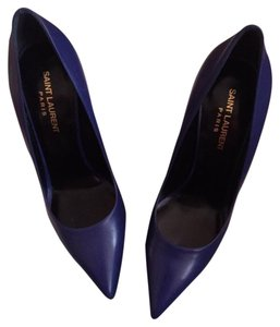 Saint Laurent Cobalt Blue Pumps