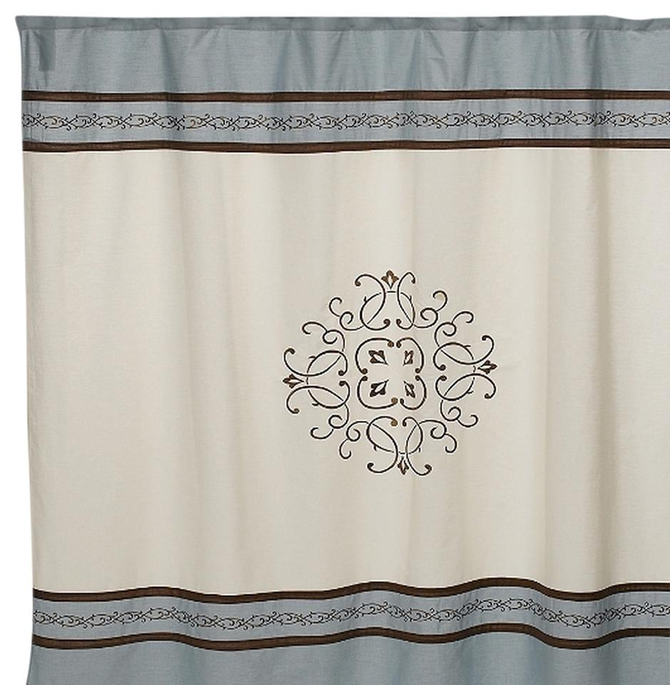 Hotel Collection Landon 72 Inch X 96 Fabric Shower Curtain