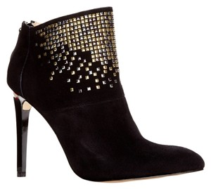 French Connection Suede Ankle Stiletto black Boots