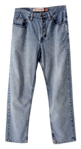 Gap Denim Loose Relaxed Fit Jeans-Light Wash