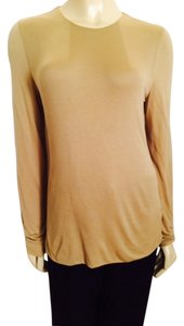 Ralph Lauren Casual Dressy Feather-light Career Work Top Tan