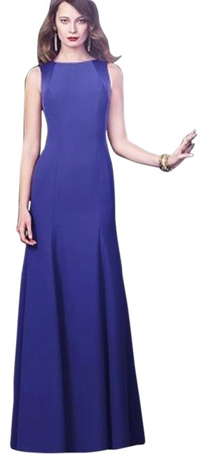 Dessy Electric Blue 2923 Long Night Out Dress Size 8 (M) Dessy Electric Blue 2923 Long Night Out Dress Size 8 (M) Image 1