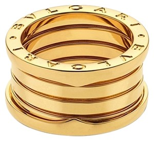 BVLGARI Bvlgari B.Zero1 18K Yellow Gold 4 Band Ring AN191025 US 5.25
