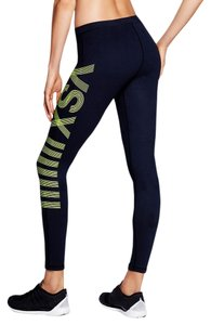 Victoria's Secret Victoria's Secret VSX Sport Graphic Tight legging Workout gym yoga pants neon Lemon