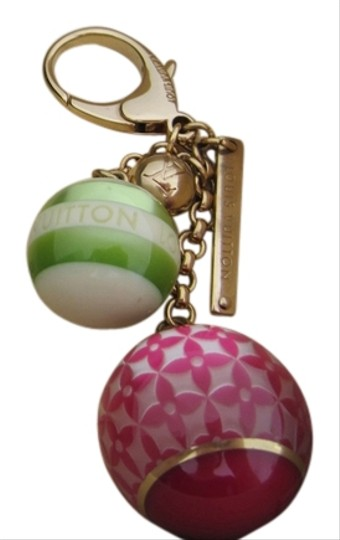 Preload https://img-static.tradesy.com/item/13844203/louis-vuitton-yellow-gold-pink-green-box-used-key-chain-charm-with-dust-bag-and-0-1-540-540.jpg