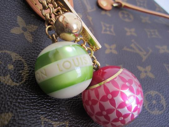 Louis Vuitton Authentic USED Louis Vuitton Key Chain or Bag Charm. Image 1