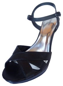 Style & Co Platform Strappy Black Sandals