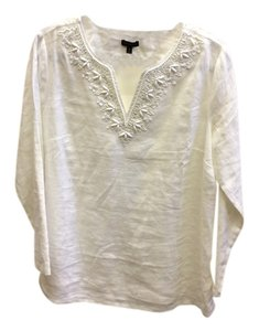 Talbots Med Beaded Tunic