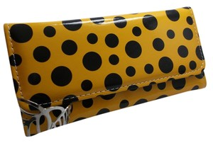 Never Used - Yellow Color Plastic Poka Dot Print w Free Shipping