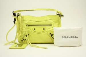 Balenciaga Satchel in Yellow