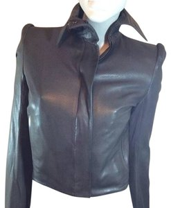 Boudicca Olive Leather Jacket