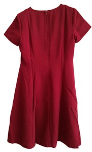 East 5th Essentials short dress Burgundy on Tradesy