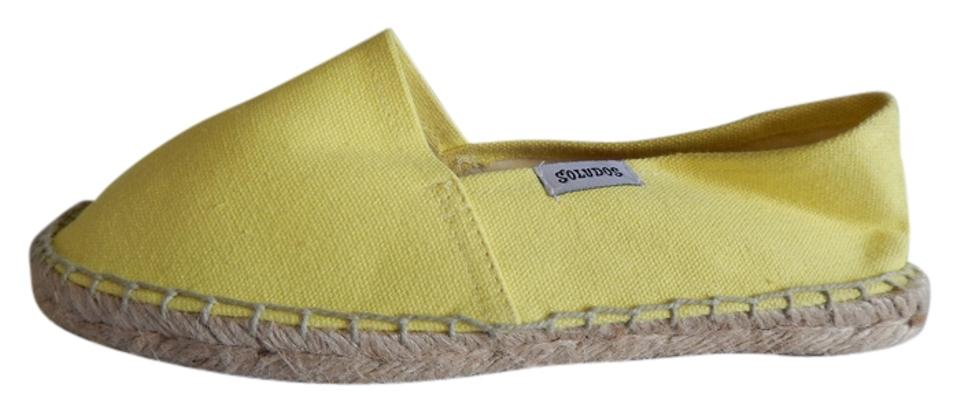 7532a2bfb0d3 J.Crew Sunshine Yellow Soludos For Canvas Espadrilles In Flats Size ...