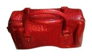 Banana Republic Satchel in red