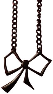 Macy's Bow necklace