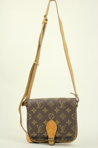 Louis Vuitton Mini Cartouchiere Cross Body Bag