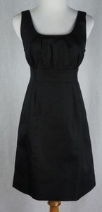 J.Crew short dress Black Sydney Cotton Cady Pockets on Tradesy