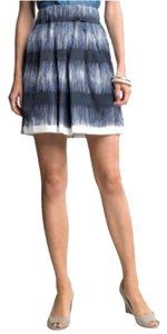 Banana Republic Skirt Navy, white, blue