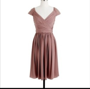 J.Crew Wild Mushroom / Tan Matilda #41752 Dress