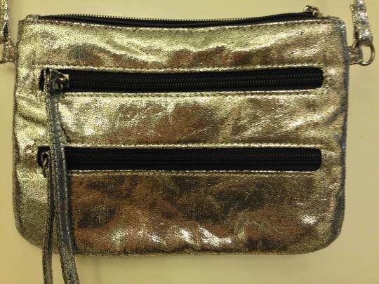 Material Girl (by Madonna) Sparkle Star Zipper Cross Body Bag