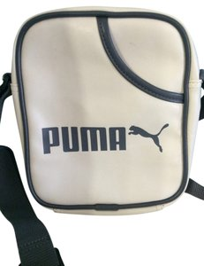 Puma Offwhite Or Cream With Gray Messenger Bag