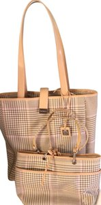 Ralph Lauren Tote in Beige, Brown, White And Pink