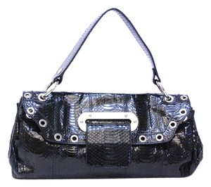 Dolce&Gabbana Dolce & Gabbana Snakeskin Leather Handbag Shoulder Bag