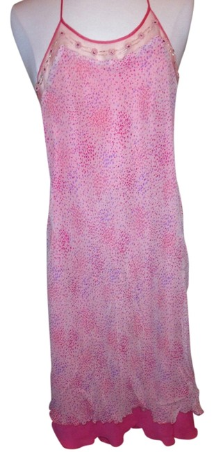 Laundry by Shelli Segal Halter Beaded Size 2 Dress