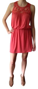 Mossimo short dress Pink on Tradesy