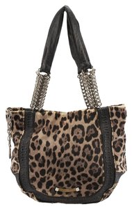 Jimmy Choo Leopard Pony Hair Tote in Animal Print