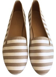 Barneys New York White and cream Flats