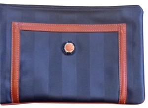 Fendi Navy Clutch