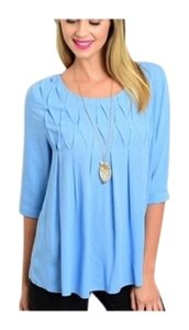 Other Day Graduation Special Business Women Top Blue