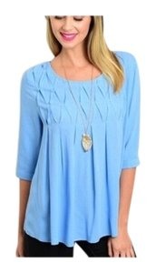Day Graduation Top Blue