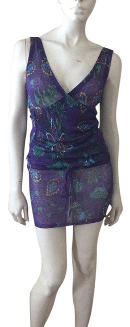 Item - Purple Knit Cover-up/Sarong Size 0 (XS)
