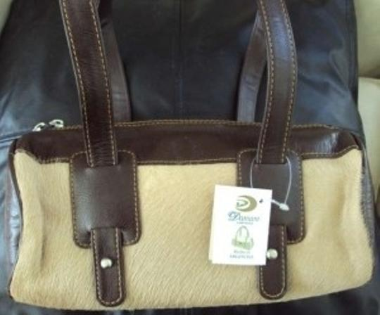 Mango Satchel in Pink and brown