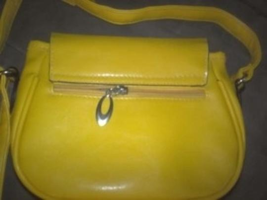 Mudd yellow Messenger Bag