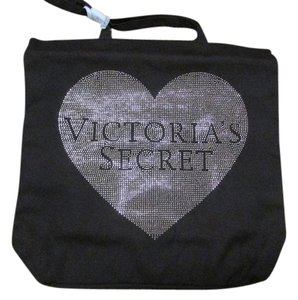 Victoria's Secret Fringe Limited Edition Bling Tote in Black