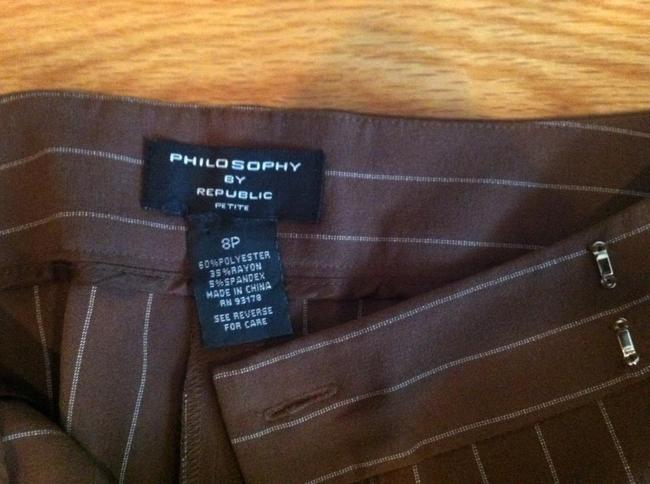 Philosophy by Republic Boot Cut Pants Light Brown