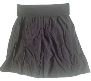 Athleta Fold-down-waist Athletic Skirt Black